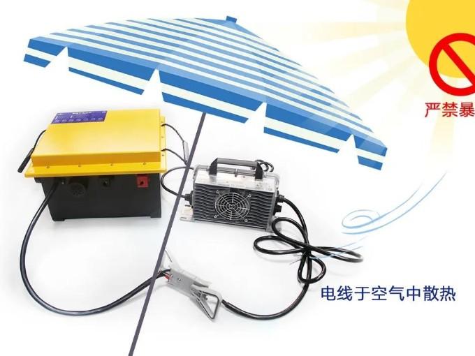 炎炎夏日,洗地车锂电池如何维护才能不产生危险?