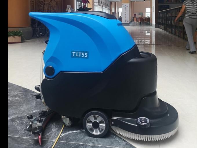 【客户案例】曲阜高速公路服务区采购坦力TLT55手推式洗地机一台