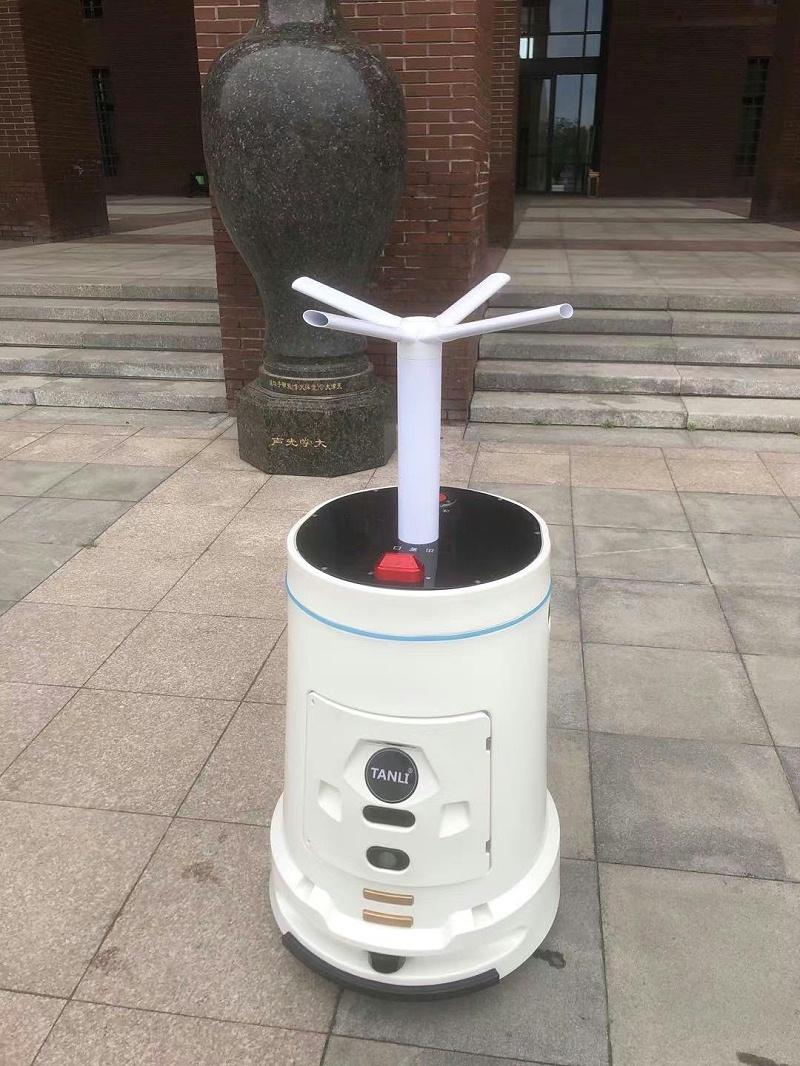 坦力智能消毒机器人