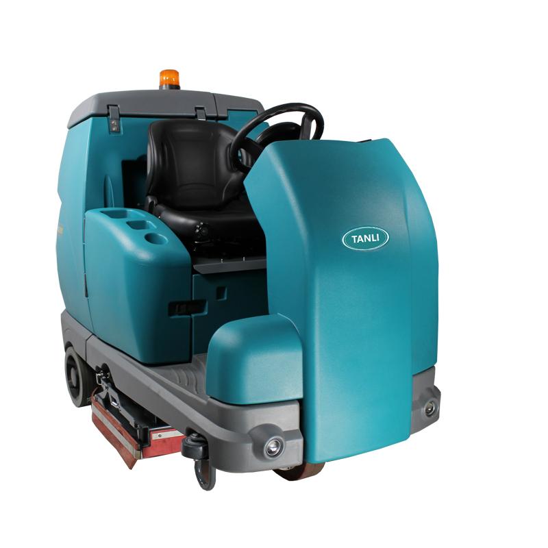 坦力T1200C驾驶式滚刷扫洗一体机