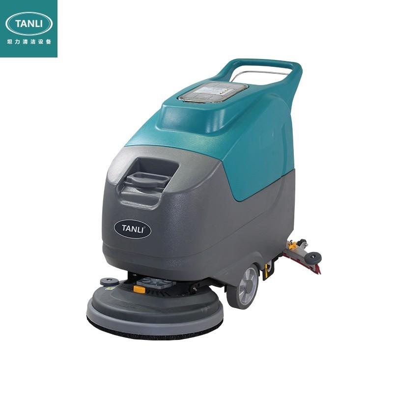 坦力T60手推式洗地机