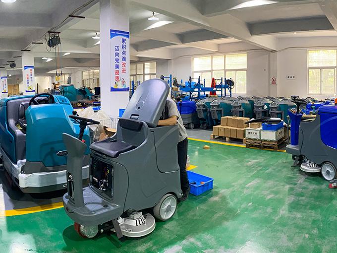 坦力清洁设备为您浅析扫地机有哪些优点