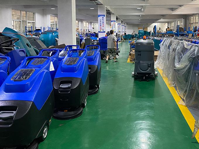 洗地机在使用过程中常见的问题以及处理方法