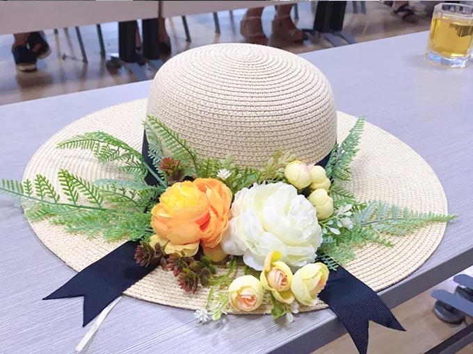 """""""帽""""美如花,惊艳一""""夏""""青岛坦力清洁设备举办""""草帽DIY"""""""