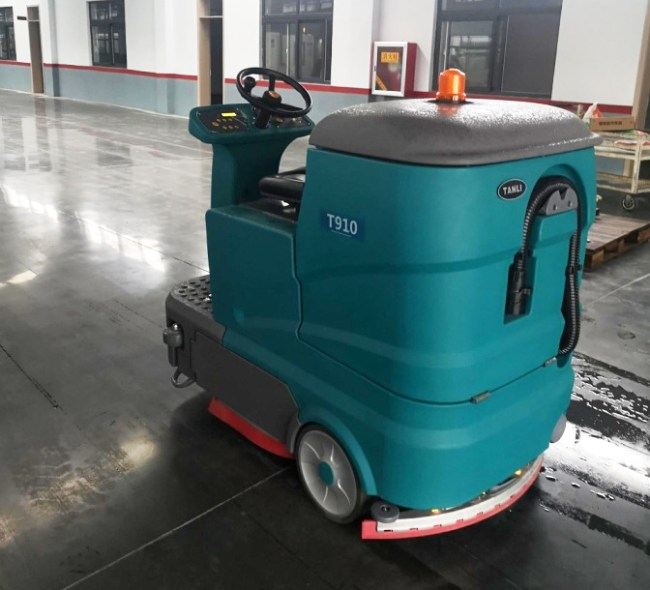 驾驶式洗地机T910