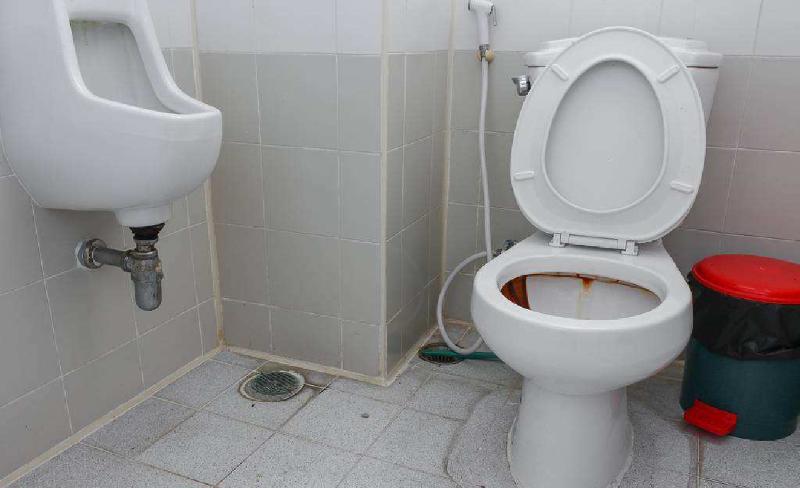 公共卫生间清洁