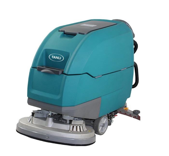 坦力T90D手推式双刷洗地机