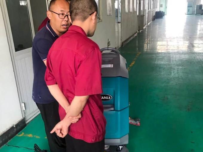 TANLI手推式洗地机T50