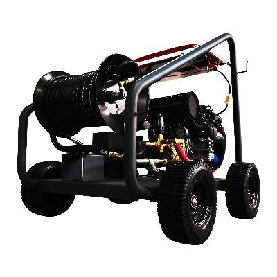 坦力TL-G200汽油机驱动高压管道疏通机