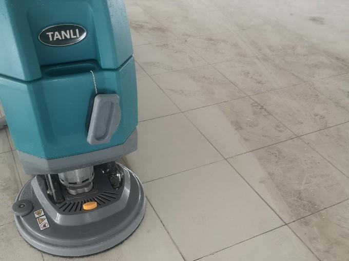 坦力T50手推式洗地机开荒保洁