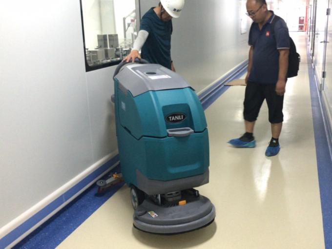 不同办公楼地面适合什么样的洗地机?