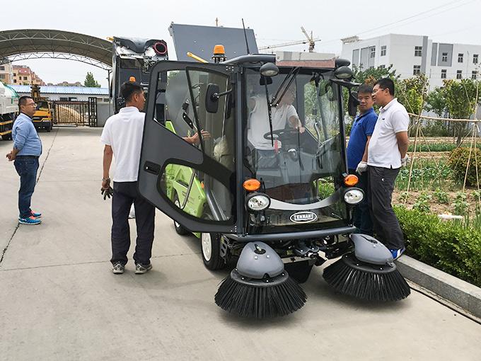 平度市政绿水青山使用坦力清洁设备