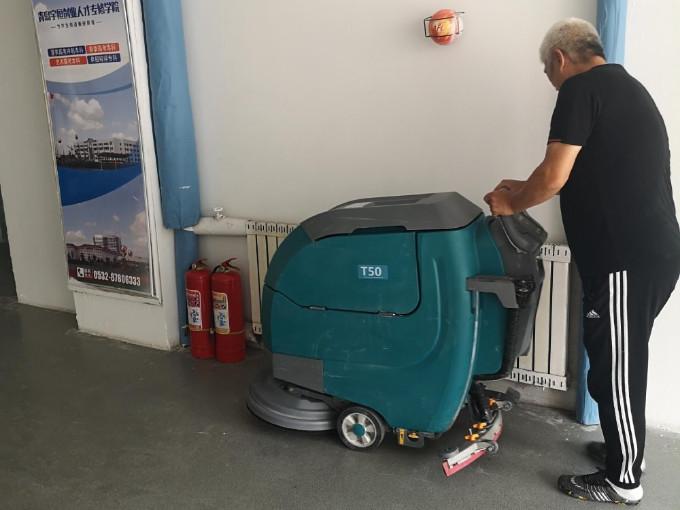 洗地机如何使用?